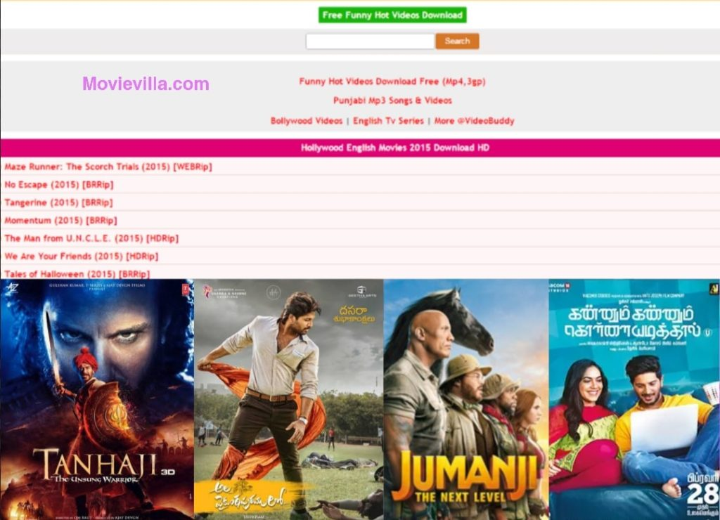 MoviesFlix: 300 MB, 480 MB, Download Bollywood movies, Free South Indian movies 2